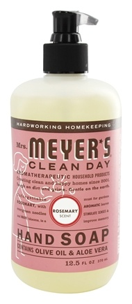 Mrs. Meyer's - Clean Day Liquid Hand Soap Rosemary - 12.5 oz.