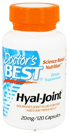 DROPPED: Doctor's Best - Hyal-Joint 20 mg. - 120 Capsules CLEARANCE PRICED