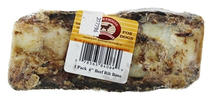 Smokehouse Pet Products - Beef Rib Bone For Dogs - 6 in.