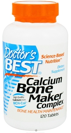 DROPPED: Doctor's Best - Calcium Bone Maker Complex - 120 Tablets CLEARANCE PRICED