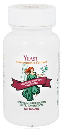 DROPPED: Vitanica - Yeast Homeopathic Formula - 60 Tablets CLEARANCE PRICED