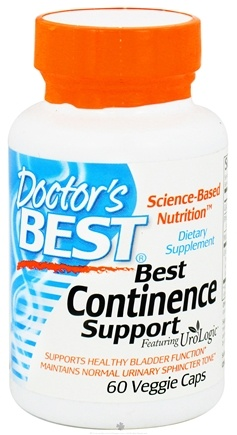 DROPPED: Doctor's Best - Best Continence Support Featuring UroLogic - 60 Vegetarian Capsules