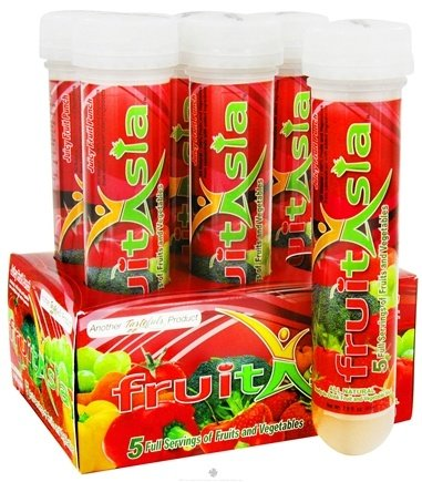 DROPPED: Protica Nutritional Research - FruitAsia RTD Fruit and Vegetable Shot Juicy Fruit Punch - 2.9 oz. CLEARANCE PRICED