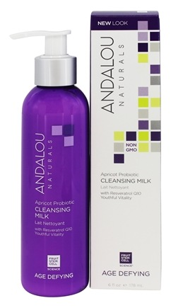 Andalou Naturals - Cleansing Milk Age-Defying Apricot Probiotic - 6 oz.