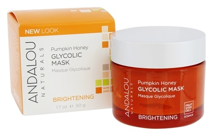 Andalou Naturals - Glycolic Mask Brightening Pumpkin Honey - 1.7 oz.
