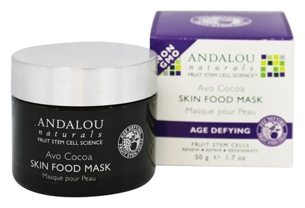 DROPPED: Andalou Naturals - Age Defying Avo Cocoa Skin Food Mask - 1.7 oz.