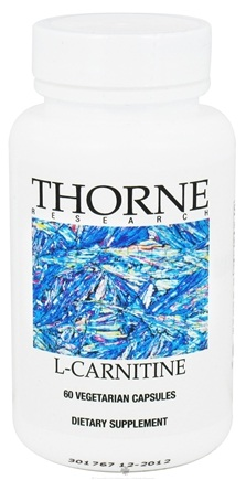 DROPPED: Thorne Research - L-Carnitine 330 mg. - 60 Vegetarian Capsules CLEARANCE PRICED