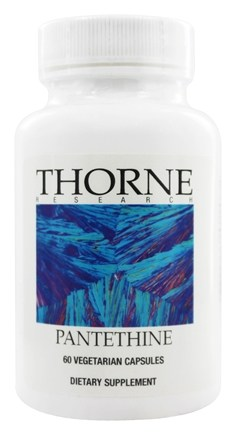 Thorne Research - Pantethine 250 mg. - 60 Vegetarian Capsules
