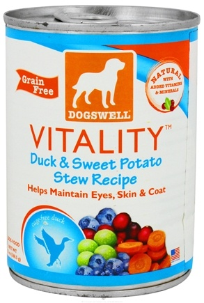 DROPPED: Dogswell - Vitality Duck & Sweet Potato Stew Recipe - 13 oz. CLEARANCE PRICED