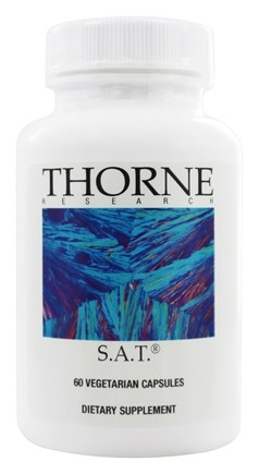 Thorne Research - S.A.T. with Meriva - 60 Vegetarian Capsules