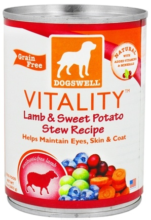 DROPPED: Dogswell - Vitality Lamb & Sweet Potato Stew Recipe - 13 oz. CLEARANCE PRICED