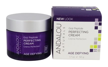 Andalou Naturals - Super Goji Peptide Perfecting Cream - 1.7 oz. (formerly Lift & Firm Cream Age-Defying Super Polypeptide)
