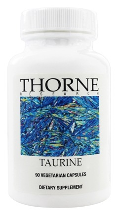 Thorne Research - Taurine 500 mg. - 90 Vegetarian Capsules