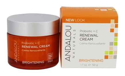 Andalou Naturals - Brightening Probiotic + C Renewal Cream - 1.7 oz.