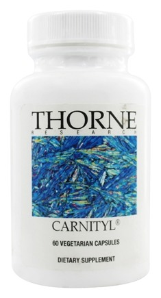 Thorne Research - Carnityl 500 mg. - 60 Vegetarian Capsules