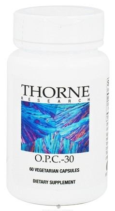 DROPPED: Thorne Research - O.P.C.-30 mg. - 60 Vegetarian Capsules CLEARANCE PRICED