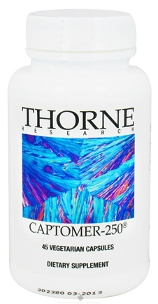 DROPPED: Thorne Research - Captomer-250 - 45 Vegetarian Capsules