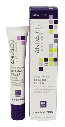 Andalou Naturals - Age-Defying Deep Wrinkle Dermal Filler - 0.6 oz.