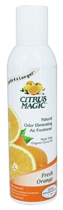 Citrus Magic - Odor Eliminating Air Freshener Natural Fresh Orange - 7 oz.