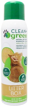 DROPPED: Clean + Green - Litter Box Odor Eliminator & Cleaner - 14 oz. CLEARANCE PRICED