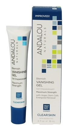 DROPPED: Andalou Naturals - Vanishing Gel Clarifying Blemish - 0.6 oz.