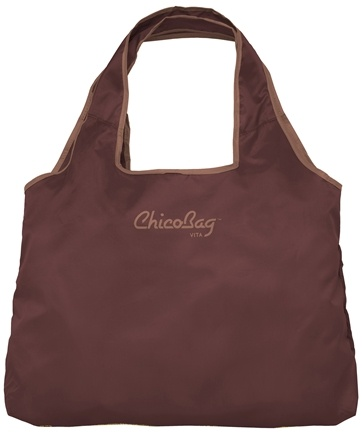 DROPPED: ChicoBag - Reusable Bag Vita Chocolate Truffle - CLEARANCE PRICED