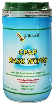 Citrus Magic - Citrus II CPAP Mask Wipes - 62 Wipe(s)