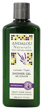 DROPPED: Andalou Naturals - Shower Gel Refreshing Lavender Thyme - 11 oz.