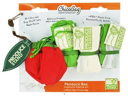 DROPPED: ChicoBag - Produce Bag Complete Starter Kit - CLEARANCE PRICED