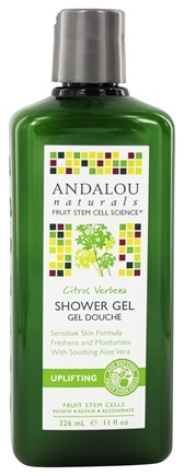 DROPPED: Andalou Naturals - Shower Gel Uplifting Citrus Verbena - 11 oz.