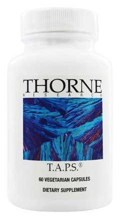 Thorne Research - T.A.P.S. - 60 Vegetarian Capsules