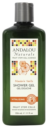 DROPPED: Andalou Naturals - Shower Gel Vitalizing Mandarin Vanilla - 11 oz.