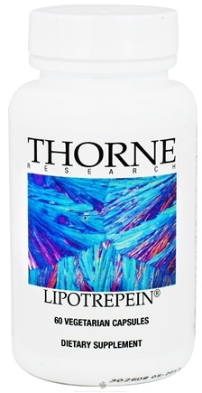 DROPPED: Thorne Research - Lipotrepein - 60 Vegetarian Capsules CLEARANCE PRICED