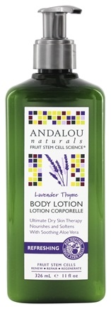 DROPPED: Andalou Naturals - Body Lotion Refreshing Lavender Thyme - 11 oz.