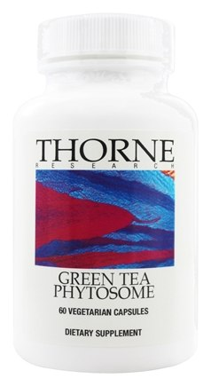 DROPPED: Thorne Research - Green Tea Phytosome 250 mg. - 60 Vegetarian Capsules