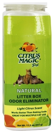 Citrus Magic - Litter Box Odor Eliminator - 11.2 oz.