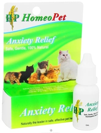 DROPPED: HomeoPet - Anxiety Relief Feline Liquid Drops - 15 ml. CLEARANCE PRICED