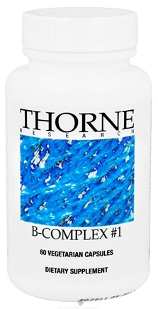 DROPPED: Thorne Research - B-Complex #1 - 60 Vegetarian Capsules
