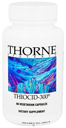 DROPPED: Thorne Research - Thiocid-300 mg. - 60 Vegetarian Capsules CLEARANCE PRICED