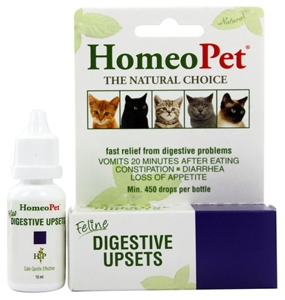HomeoPet - Digestive Upsets Feline Liquid Drops - 15 ml.