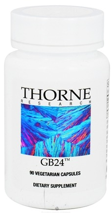 DROPPED: Thorne Research - GB24 40 mg. - 90 Vegetarian Capsules CLEARANCE PRICED