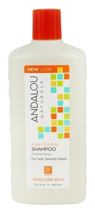 Andalou Naturals - Shampoo Moisture Rich Sweet Orange & Argan - 11.5 oz.