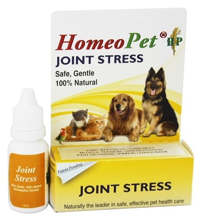 HomeoPet - Joint Stress Liquid Drops For Pets - 15 ml.