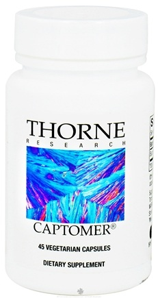 DROPPED: Thorne Research - Captomer 65 mg. - 45 Vegetarian Capsules