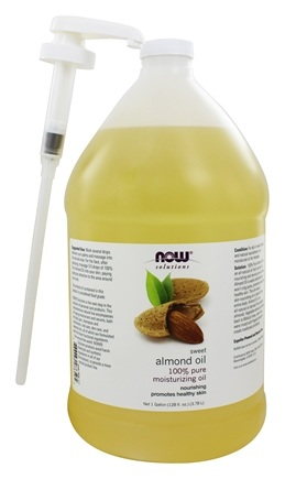 NOW Foods - Sweet Almond Oil - 1 Gallon