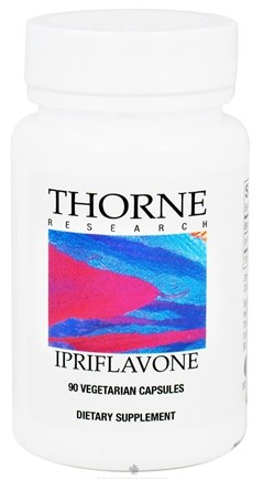 DROPPED: Thorne Research - Ipriflavone 200 mg. - 90 Vegetarian Capsules CLEARANCE PRICED
