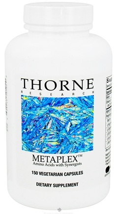 DROPPED: Thorne Research - Metaplex Amino Acids with Synergists - 150 Vegetarian Capsules