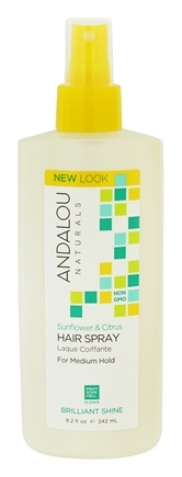 Andalou Naturals - Hair Spray Perfect Hold Sunflower & Citrus - 8.2 oz.
