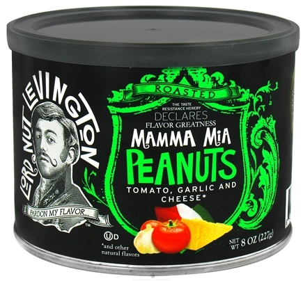 DROPPED: Lord Nut Levington - Mamma Mia Peanuts - 8 oz. CLEARANCE PRICED