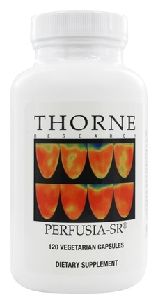 Thorne Research - Perfusia-SR 1000 mg. - 120 Vegetarian Capsules